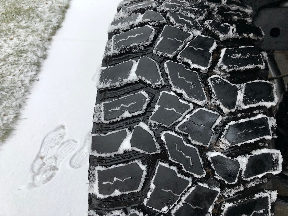 Are Discoverer STT Pro Good In Snow? - mikesjeep com