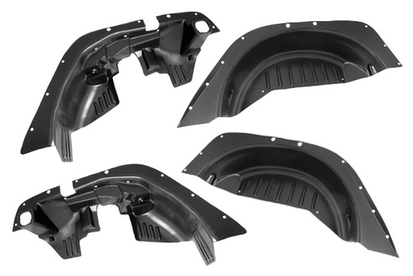 rugged ridge flat fender liner